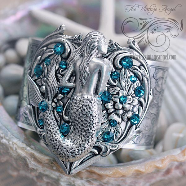 Starfina Fantasy Mermaid Cuff Bracelet From The Vintage Angel