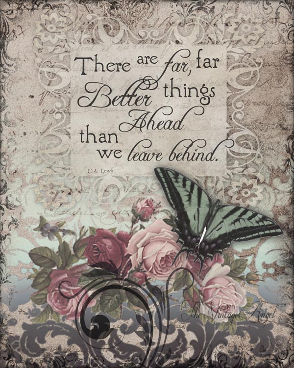 Better Things Ahead Print