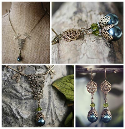 Lady Forestine Pearl Set