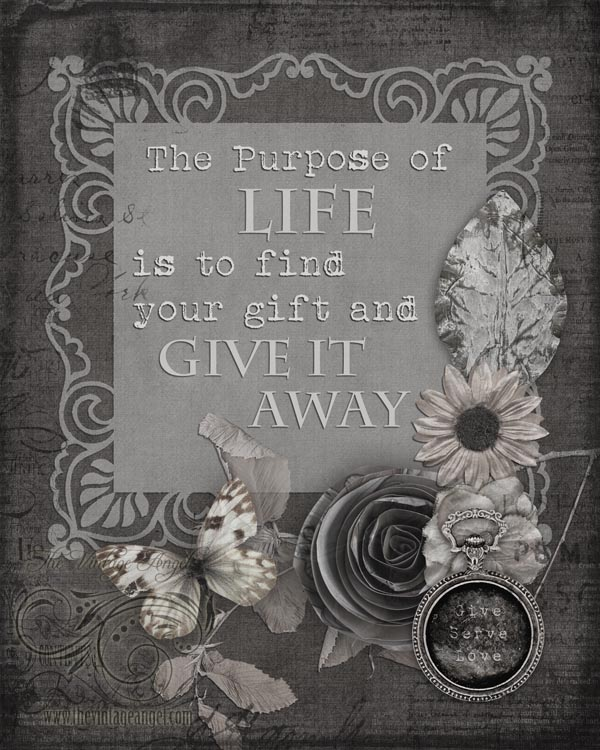 Give It Away Print