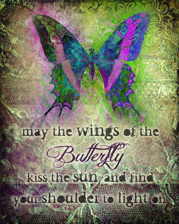 Irish Butterfly Print