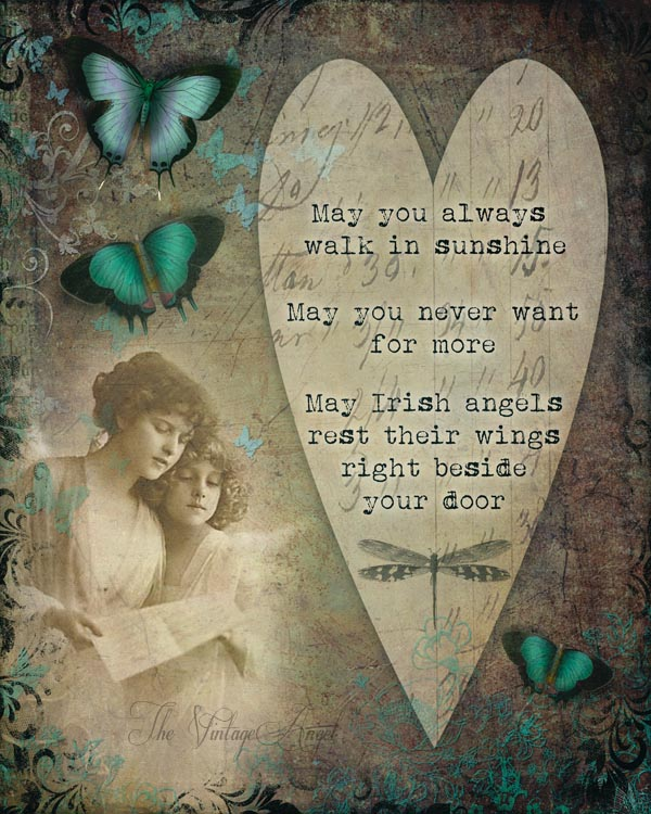 Irish Angels Print