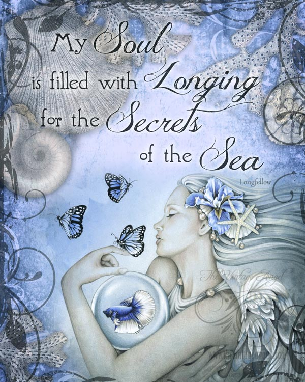 Secrets of the Sea Print