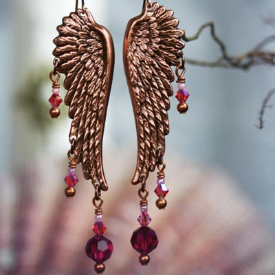 Brave Wings Earrings