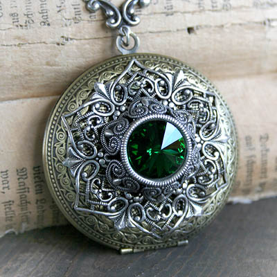 Celtic Jewel Locket