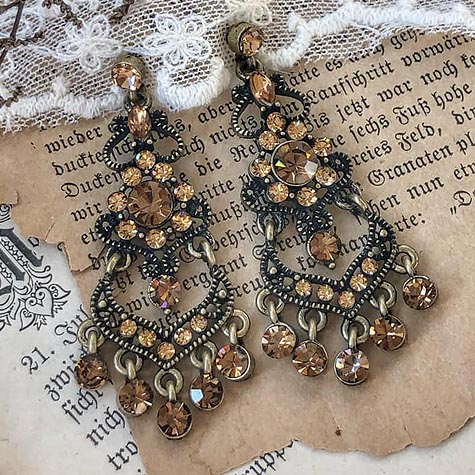 Champagne Elegance Earrings