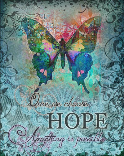 Choose Hope Print