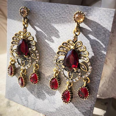 Vintage Decadence Earrings