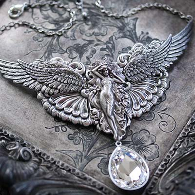 Ethereal Angel Necklace
