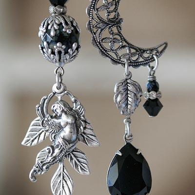 Eventide Asymmetrical Earrings