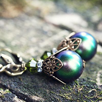Faerie Pearl Earrings