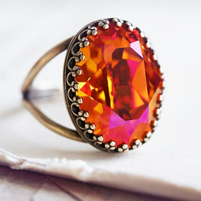 Fire and Grace Ring