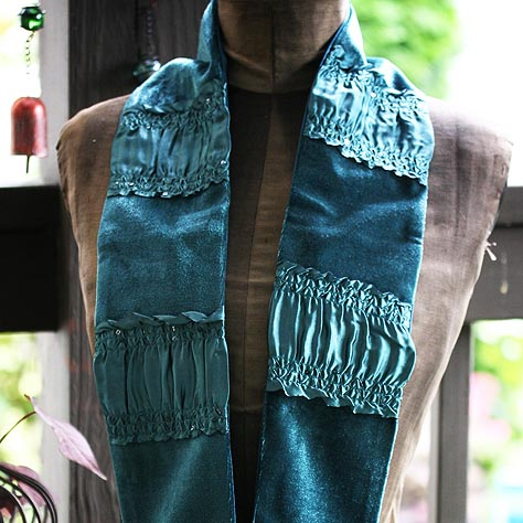 Forest Jewel Scarf