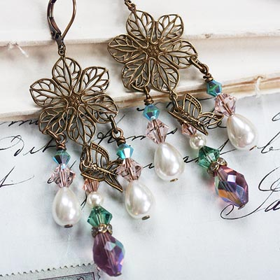 French Garden Earrings