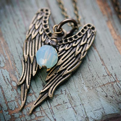 Friendship Wings Necklace