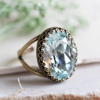 Frosted Sage Ring
