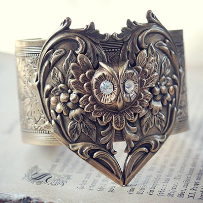 Golden Wings Cuff