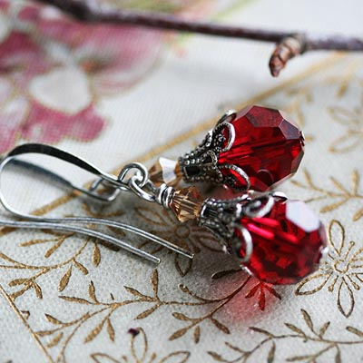 Jewel of Autumn Earrings