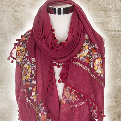 Jewel of Autumn Scarf