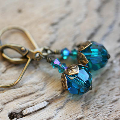 Jewel of the Sea Earrings