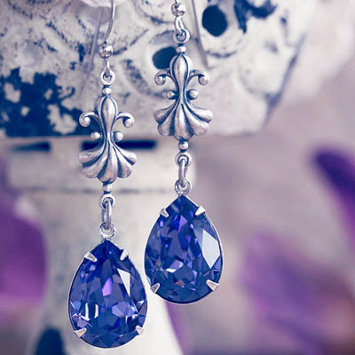 Lilac Frost Earrings