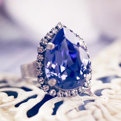 Lilac Frost Ring