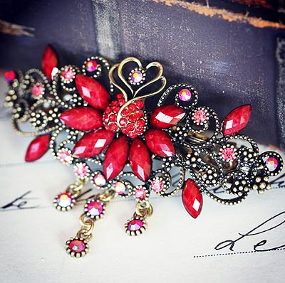 Love Birds Barrette