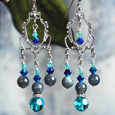 Mystical Garden Earrings