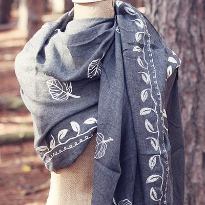November Leaves Scarf