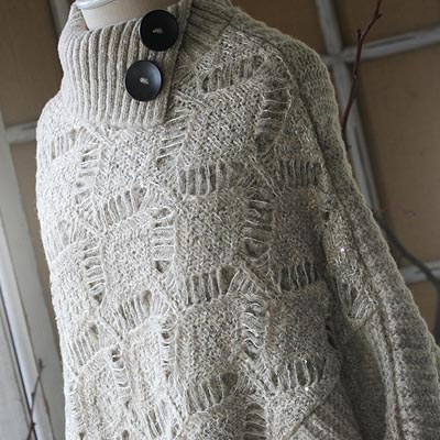 Thistlewood Knit Poncho