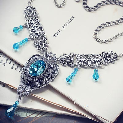 Peacock Fantasy Necklace