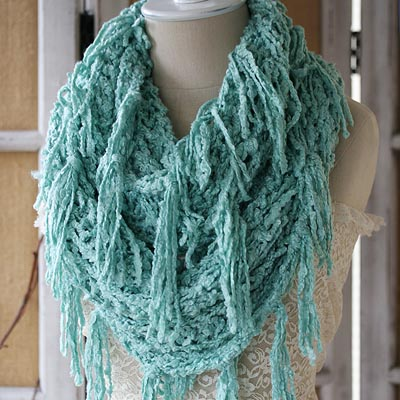 Sea Glass Infinity Scarf