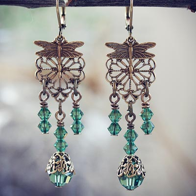 Shaded Glen Earrings