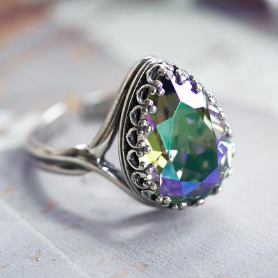 Spring Crystals Ring
