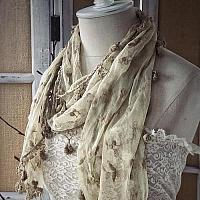Thistle Lace Scarf