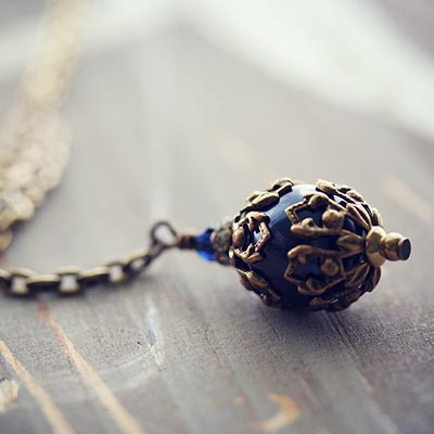Victorian Midnight Necklace