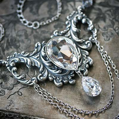 Vintage Ice Necklace