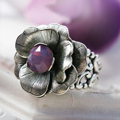 Wild Orchid Ring