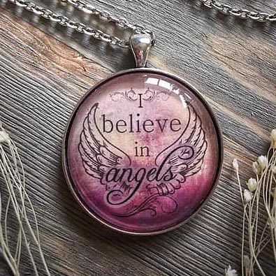 Believe in Angels Necklace